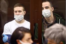 First Western District Military Court's hearing in the criminal case of Yuliy Boyarshinov and Victor Filinkov, accused under Part 2 of Art. 205.4 of the Criminal Code 'Creation of a Terrorist Organisation and Participation Therein' (The Network Case).