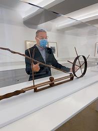Artistic Director of the Giacometti Institute Christian Alandete.