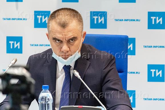 Press conference 'On the results of the work of international experts in evaluating a thermal waste disposal plant in the Republic of Tatarstan' in the Tatar-inform news agency.