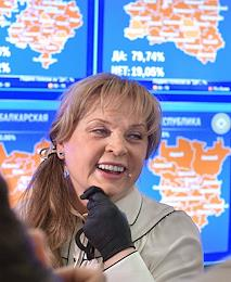 All-Russian vote on the constitutional amendments. Work of the Information Center of the Central Election Commission (CEC) of Russia during vote counting.