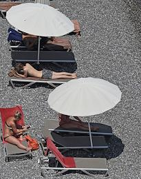 Crimea has been opened for tourists from other regions since July 1. All tourist spots must observe the new sanitation and hygiene requirements, in particular, regular disinfection, temperature measurement for staff and tourists, and social distancing. Face masks are not required on beaches. More than 420 resorts and hotels are now working under the new rules.