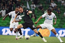 Russian Premier League (RPL). Russian Football Championship 2019/2020. Matchday 26. Match between Krasnodar (Krasnodar) and Zenit (St. Petersburg).