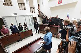 Second Western District Military Court has pronounced the verdict in the case of Russian journalist Svetlana Prokopyeva, charged with justifying terrorism (part 2 of the article 205.2 of the Criminal Code) in her article about the terrorist act in the Arkhangelsky Federal Security Service Directorate.