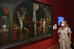 Media preview of the 'NotForever. 1968-1985' Exhibition of the State Tretyakov Gallery on Krymsky Val.