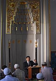 Crimean Muslims celebrate Eid al-Adha (Feast of the Sacrifice).