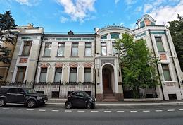 Genre photo shoot. Mansions in the center of Moscow.