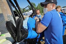 EMERCOM drill was held in Volgograd.