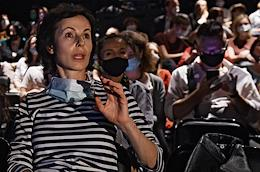 Opening of a new theatrical season at the Taganka Theater. White Noise directed by Galina Polishchuk as part of the Rehearsals creative project.
