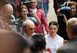 Presnensky District Court's hearing in the merits of the case of the fatal crash involving Russian actor Mikhail Efremov.