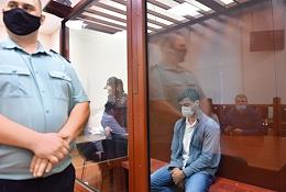 Sentencing of Alexander Voronin, accused of murdering the bride, in the Basmanny District Court.