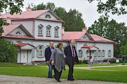 Chairman of 'A Just Russia' party, Head of 'A Just Russia' faction in the Russian State Duma Sergey Mironov visited Abramtsevo State Historical, Artistic and Literary Open-Air Museum.