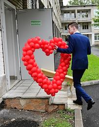 The 1st of September 1 at the Secondary School No. 450 in Zelenogorsk.