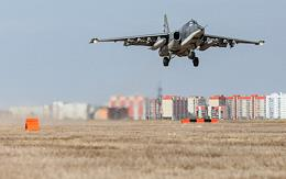 Southern Military District Ground Attack Aircraft crews from the Krasnodar Region conducted landing and takeoff exercises at an unfamiliar unpaved airfield in the Volgograd Region as part of a major aviation and air defense control exercise.