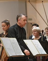 Concert of Mikhail Pletnev and the Russian National Orchestra in the Tchaikovsky Concert Hall.