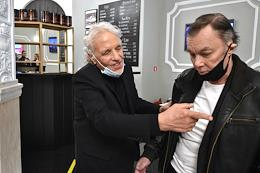Private screening of Abel Ferrara's film 'Siberia' in the Illusion cinema as part of The Art Newspaper Russia Film Festival.