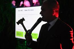 The first Black Duck Friday office rental auction in Moscow.