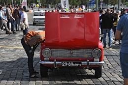 GUM Motor Rally dedicated to the 50th anniversary of the first LADA cars production.