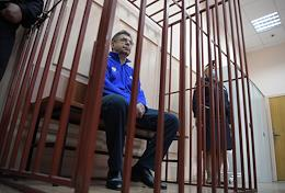 Sentencing of Director of the Training Center of Russian National Team Alexander Kravtsov, accused of embezzlement, in the Basmanny District Court.