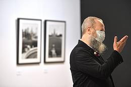 Opening of Sergei Borisov's exhibition 'New Meanings' in the Ruarts gallery.