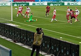 Russian Premier League (RPL). Tinkoff Russian Football Championship 2020/2021. Matchday 8. Match between Rubin (Kazan) and Spartak (Moscow).