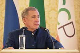 The first session of the Kazan City Duma of the fourth convocation.