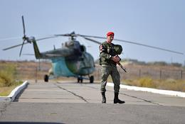Press tour to the training grounds for the Kavkaz-2020 Strategic Command and Staff Exercises.