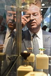 The First Moscow Jewelry Exhibition-Congress J-1 at the Crocus Expo International Exhibition Center.