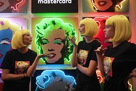 Media preview of the I, Andy Warhol exhibition at the State Tretyakov Gallery on Krymsky Val.