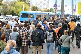 Temporary closure of the stations of the Arbatsko-Pokrovskaya line of the Moscow metro from Pobedy Park station to Molodezhnaya station.
