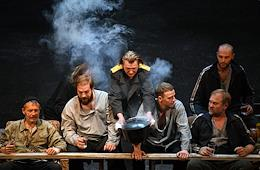 Premiere of the play 'Bulba. Feast' by director Alexander Molochnikov in the theater and concert hall 'Palace on the Yauza river'.
