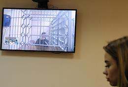 Consideration of the appeal against the arrest of rapper Elley (Elmin Guliyev) in the Moscow City Court.