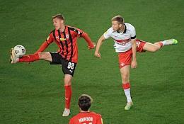 Russian Premier League (RPL). Tinkoff - Russian Football Championship 2020/2021. 11th round. Khimki (Khimki) vs Spartak (Moscow) at the Khimki Arena stadium.