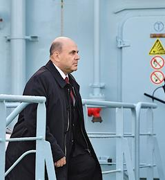 Working visit of Russian Prime Minister Mikhail Mishustin to Murmansk.