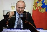 Broadcast of congratulations by Russian President Vladimir Putin on the 75th birthday of director Nikita Mikhalkov via videoconference.