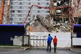 Demolition of the Korston Hotel.