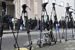 Consideration of the appeal against the verdict in the case of a fatal traffic accident involving actor Mikhail Efremov in the Moscow City Court.