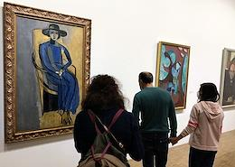 Matisse as Art Exhibition at the Pompidou Center.
