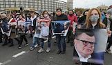 Rally in Minsk.