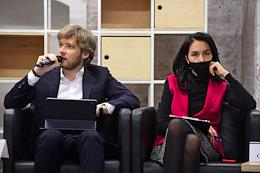 An external meeting of the 'round table' of the United Russia faction in the Moscow City Duma and the permanent deputy association 'My Moscow' devoted to Burning issues of the creative industries development in Moscow at the Winzavod Center for Contemporary Art.