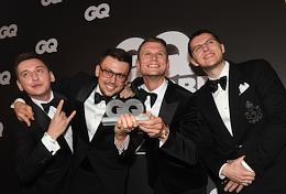 GQ magazine's Person of the Year 2020 award ceremony at the Gorky Moscow Art Academic Theater (MKhAT).