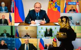 Russian President Vladimir Putin held a meeting of the Security Council of the Russian Federation via videoconference.