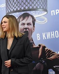 Meeting with the film directors of the film 'The Man from Podolsk' at the Karo 11 October cinema.