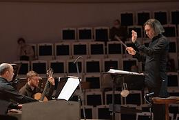 Closing of the VII International Festival of Contemporary Music 'Another Space' in the Tchaikovsky Concert Hall.