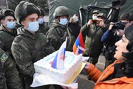 The political situation in Nagorno-Karabakh. Celebrating the Day of the Russian Military Peacekeeper.