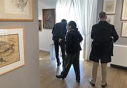 Balthus exhibition at the Artcurial Parisian auction house