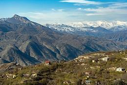 The occupation of the last region of Nagorno-Karabakh by the Azerbaijani army. Lachin town (in Armenian Berdzor)