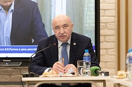 Press breakfast with the rector of KFU, chairman of the Council of rectors of universities of the Republic of Tatarstan Ilshat Gafurov.