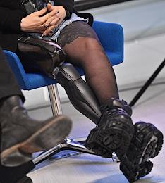 Cyborg activation in Skolkovo.