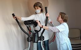 Rehabilitation of patients after COVID-19 disease in the Druzhba sanatorium of the Ministry of Internal Affairs of Russia in Crimea. The sanatorium offers a treatment program to help patients recover from coronavirus infection.