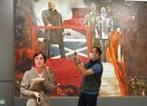 Russian Art of the Soviet Period Exhibition at the Museum of Fine Arts.